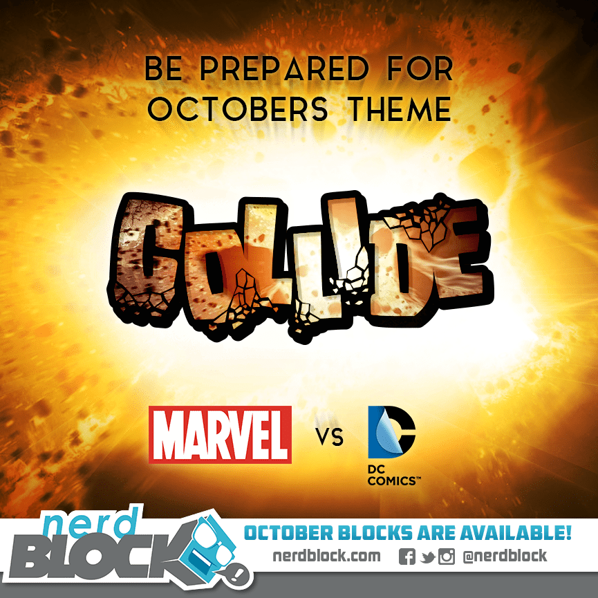October 2014 Nerd Block Theme Reveal