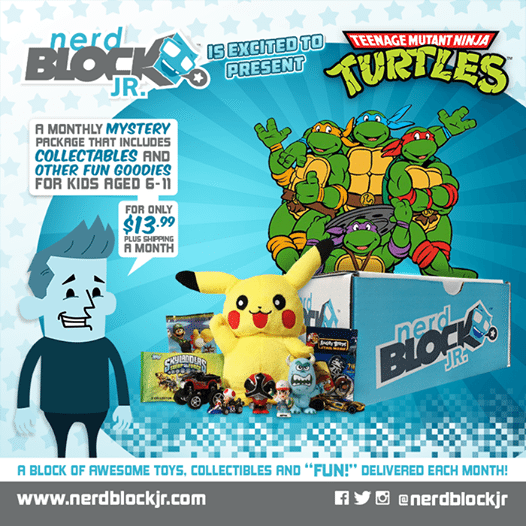 October 2014 Nerd Block Jr. Boys Box Spoiler - TMNT