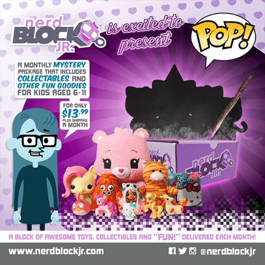 October 2014 Nerd Block Jr. Girls Box Spoiler - POP!