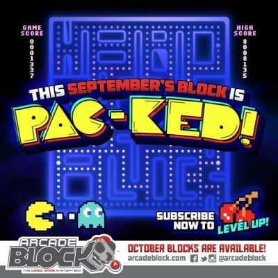 September 2014 Arcade Block Box Spoiler
