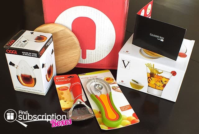 September 2014 Culinary Fancy Box Review -