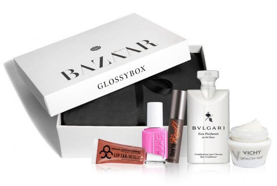 September 2014 GLOSSYBOX Harper's Bazaar Box Spoilers