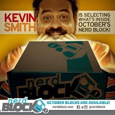 September 2014 Nerd Block Box Spoiler - Kevin Smith