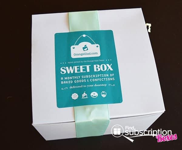 September 2014 Orange Glad Box Review - Inner Box