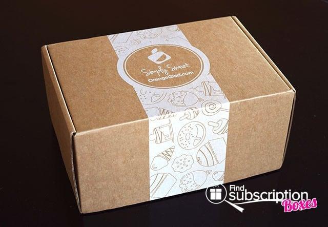 September 2014 Orange Glad Box Review - Outer Box