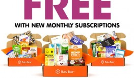 Get Your 1st Box of Monthly Bulu Box Subscriptions FREE with Code FSBFREEBULU