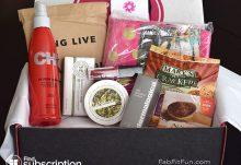 Fall 2014 FabFitFun VIP Box Review - Box Contents