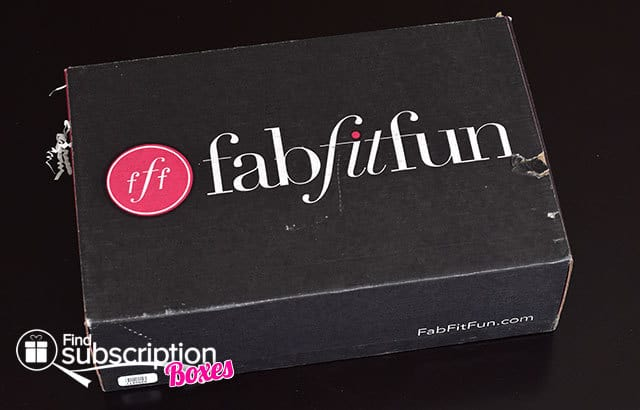 Fall 2014 FabFitFun VIP Box Review - Outer Box