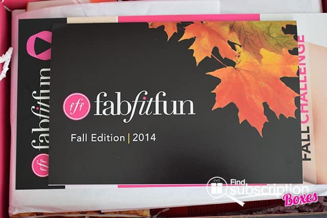 Fall 2014 FabFitFun VIP Box Review - Product Card