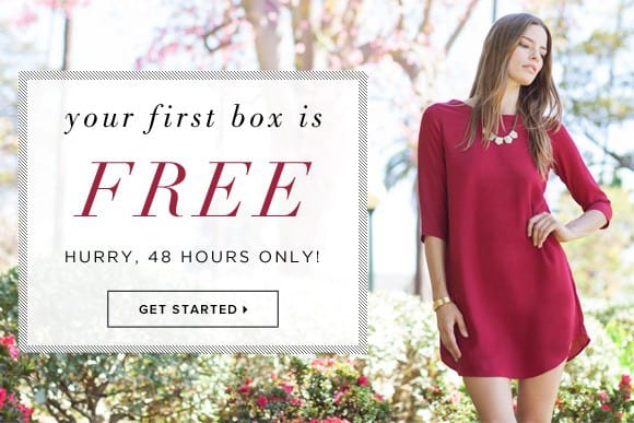 LE TOTE First Box Free Coupon