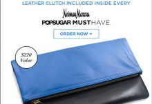 Neiman Marcus 2014 POPSUGAR Must Have Box Spoiler Clare V Clutch
