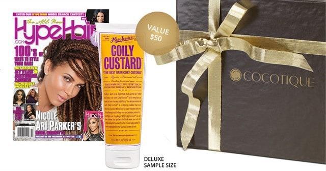 November 2014 COCOTIQUE Box Spoiler - Miss Jessie's Coily Custard