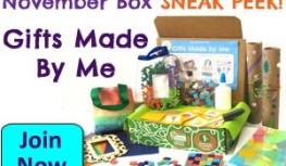 November 2014 Green Kid Crafts Box Spoiler