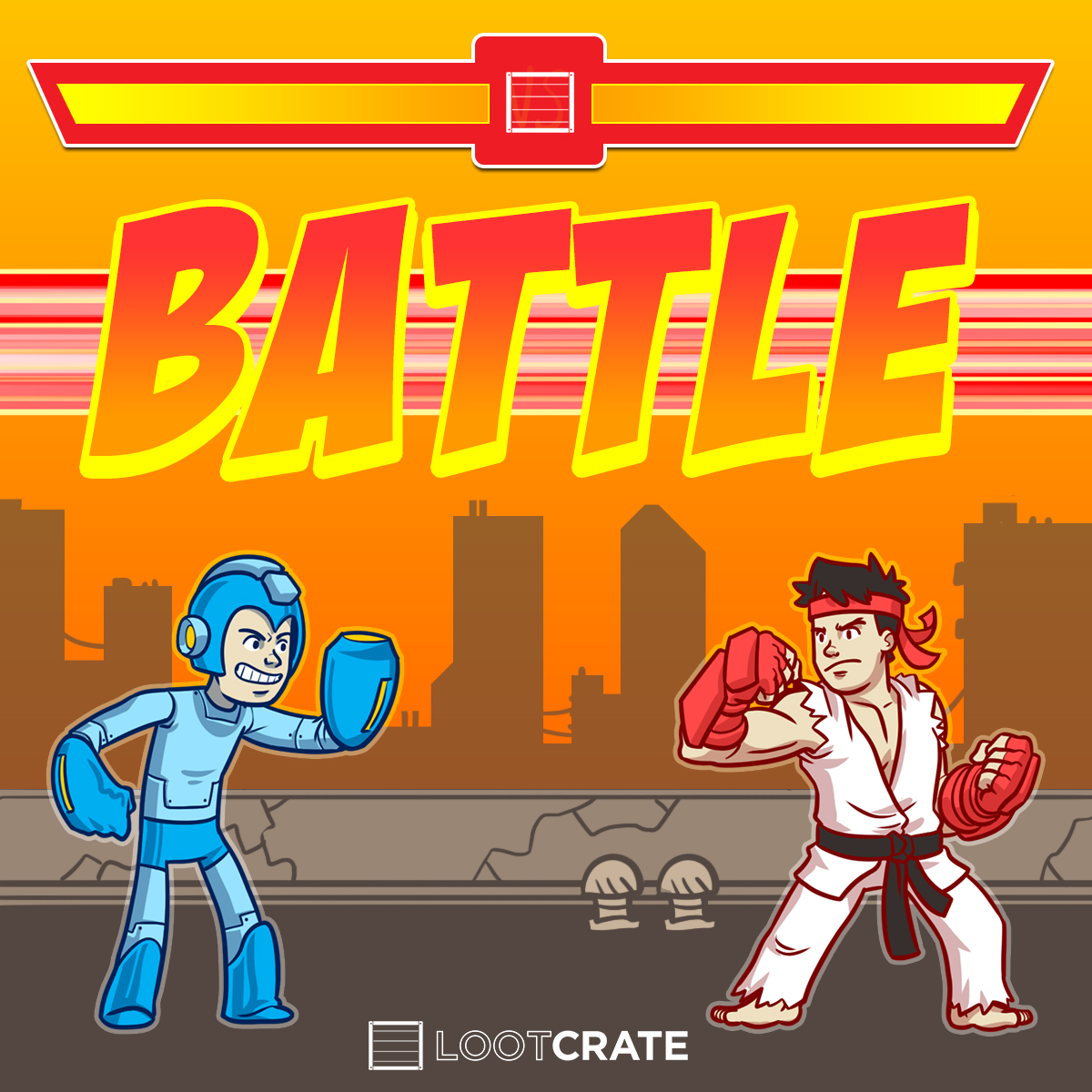 November 2014 Loot Crate Theme Reveal - Battle