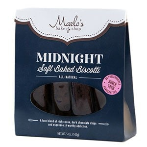 November 2014 Love with Food Box Spoiler - Marlo's Midnight Soft Baked Biscotti