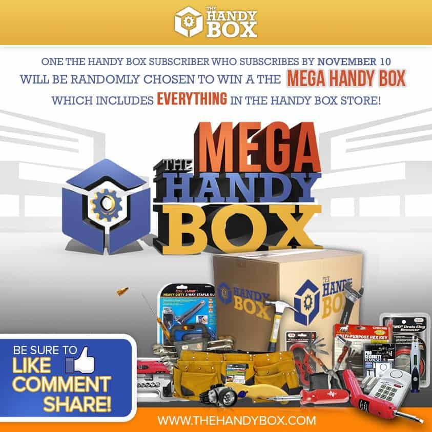 November 2014 The Mega Handy Box