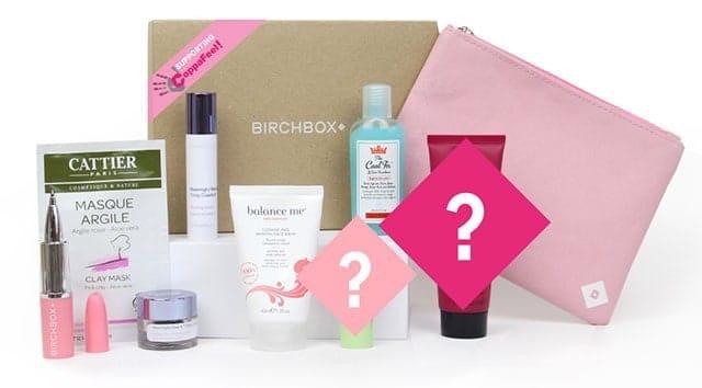 October 2014 Birchbox UK Box