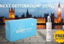 October 2014 London Escape Monthly Free Gift