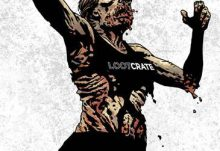 October Loot Crate Box Spoiler - The Walking Dead