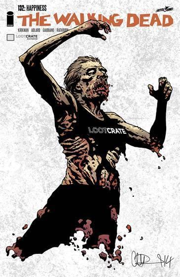 October Loot Crate Box Spoiler - The Walking Dead