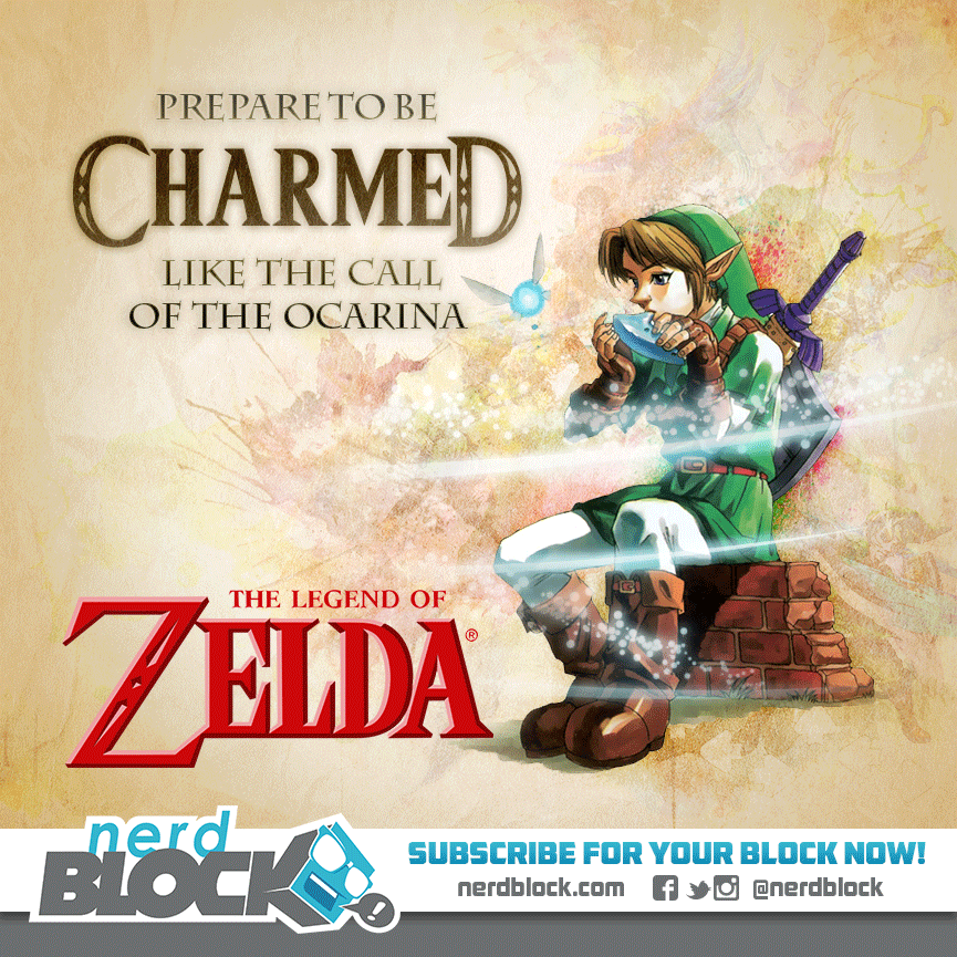 October 2014 Nerd Block Box Spoiler - Zelda