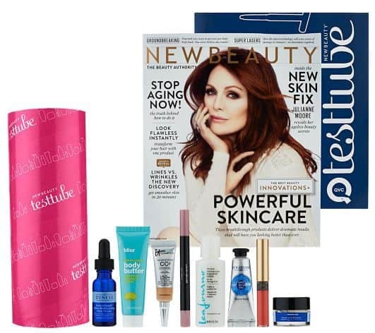 October 2014 QVC NewBeauty Test Tube