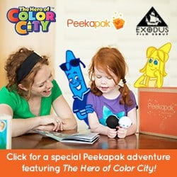 October Peekapak The Hero of Color City