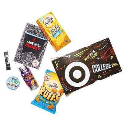 Target Back to College Study Break Care Package