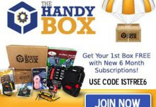 The Handy Box 1st Box Free