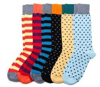 December 2014 Birchbox Man - Nice Laundry Socks