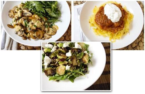 HelloFresh 11/24/14 (Week 48) Veggie Recipe Box Menu
