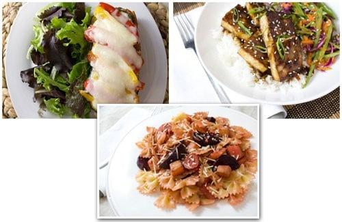 HelloFresh 11/3/14 (Week 45) Veggie Recipe Box Menu