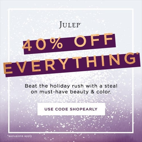 Save 40% Off Everything at Julep