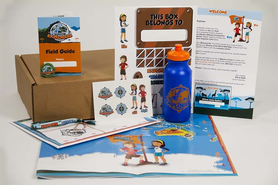 Junior Explorers Subscription Box