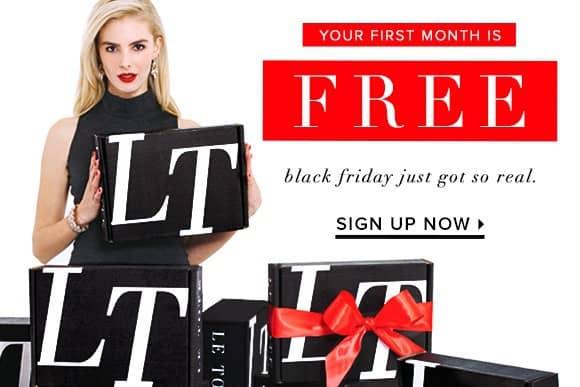 LE TOTE Black Friday Sale