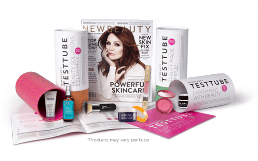 NewBeauty TestTube Monthly Subscription Beauty Box