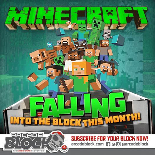 November 2014 Arcade Block Box Spoiler - Minecraft