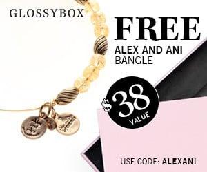 November 2014 GLOSSYBOX FREE Gift - Alex and Ani Bangle