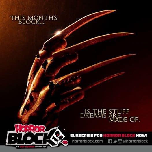 November 2014 Horror Block Box Spoiler - Freddy Krueger