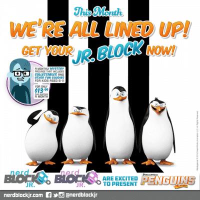 November 2014 Nerd Block Jr. Box Spoiler