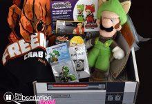 October 2014 Arcade Block Box Review - Box Contents