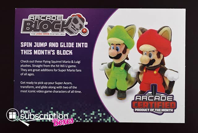 October 2014 Arcade Block Box Review - Product Card
