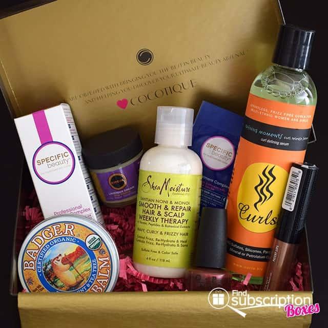 October 2014 COCOTIQUE Box Review - Box Contents
