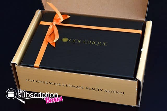 October 2014 COCOTIQUE Box Review - Inner Box