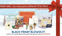 Black Friday 2014: Save 50% Off All Peekapak Subscriptions with Code BLACKFRIDAY