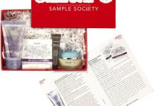 September 2014 Beauty Bar Allure Sample Society Box