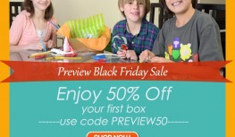 1 Day Sale! Save 50% Off Your 1st Happy Trunk Box with Code PREVIEW50