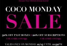 COCOTIQUE Monday Sale