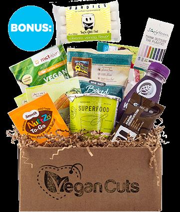 Cyber Monday Vegan Cuts Snack Box