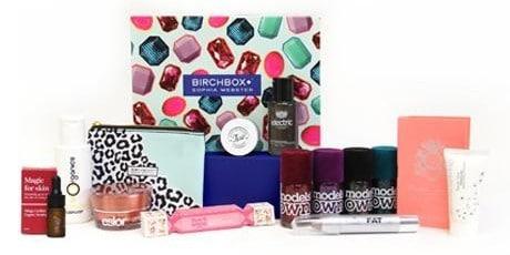 December 2014 Birchbox UK Sophia Webster Box